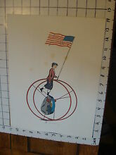 11 x 14 toy poster tin toy rolling