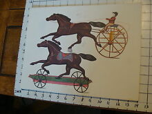 11 x 14 toy poster tin toy horse on