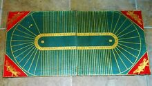 Rare victorian game leather board
