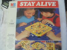 Stay alive marble strategy board