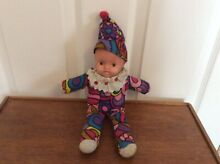 Rag baby fabric doll 1960 70s style