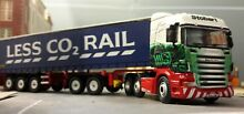 Stobart rail scania container lorry
