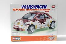 1 18 bburago vw beetle flower power