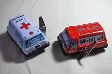 Tin toy wind up auto turn 3 mobil