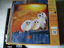 Puzzle owls in the window 550 piece