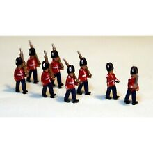 8 guards marching unpainted langley