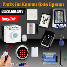 Gate opener accessories parts entry