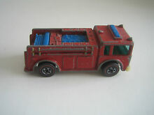 Hot wheels fire eater red plastic
