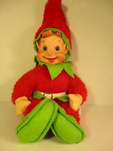 Rushton rubber face christmas elf