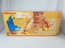 1977 helicopter rescue set rare new