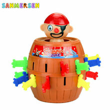 Pirate barrel funny game toys lucky