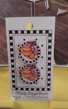 1990 daisy kingdom 2 wood buttons