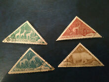 4 chad animal timber tax stamps