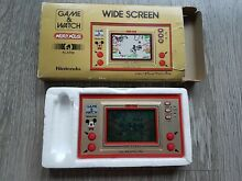 Nintendo game watch game in box