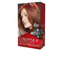 Colorsilk dye 55 light reddish