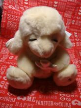 Lovable lambie plush 8 holding a