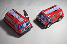 New japan tin toy 3 friction wind