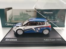 1 43 skoda fabia super 2000 be flag