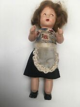 Small doll mohair old clothes