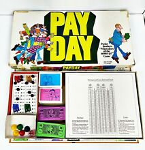 1975 pay day board game parker