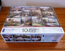 Jigsaw puzzles 10 in one box