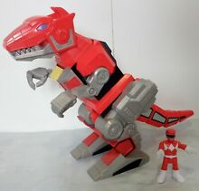 Mattel imaginext mighty morphin red