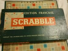 French edition scrabble complete