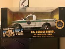 American muscle police 1 18 scale u
