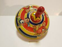 S had valley toy tin spinning top
