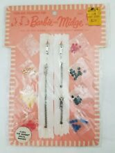 2 barbie dress maker paks midge