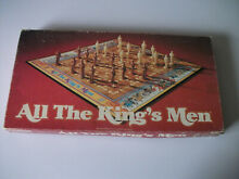 All the kings men board game 1979
