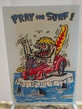 Ed roth original water slide decal