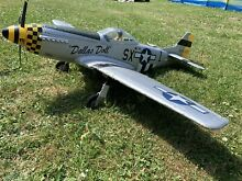 Used eflite p51 mustang electric