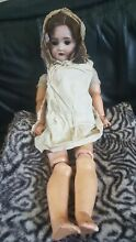 German bisque 24 doll marked 136 8