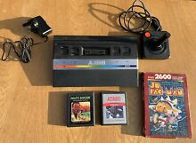 Console joystick and 3 games