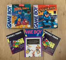 Two empty mega man games boxes only