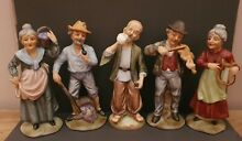 Set of 5 style figurines in great