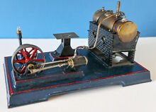 Live steam toy german plant project