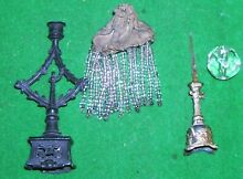 Dolls house oil lamp candle stick