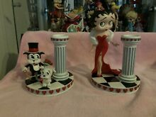 Rare danbury mint betty boop candle