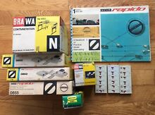N scale 10 piece lot brawa minitrix