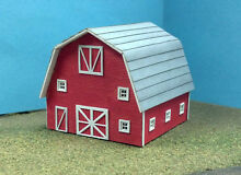 Laser cut barn kit