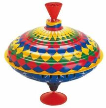 Multicolor spinning top toy