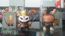 Rare lot x2 figurines dunny series