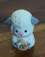 Co mini 1 1 2 white lamb figurine w