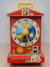 Fisher price teaching clock lernuhr