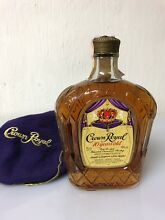 Crown royal 10yo 1981 fine de luxe
