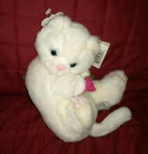 Whimsy caress soft pets white cat