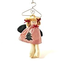 Country angel doll christmas