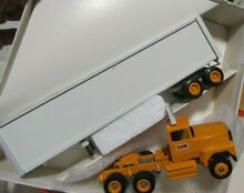 Yellow freight metal diecast